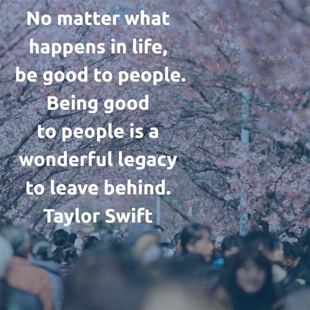 Taylor Swift quotation