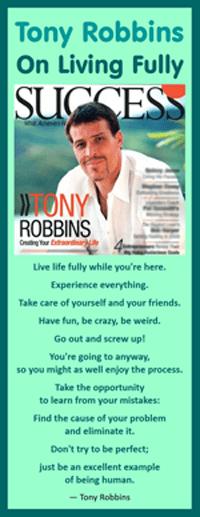 Tony Robbins on Living Fully