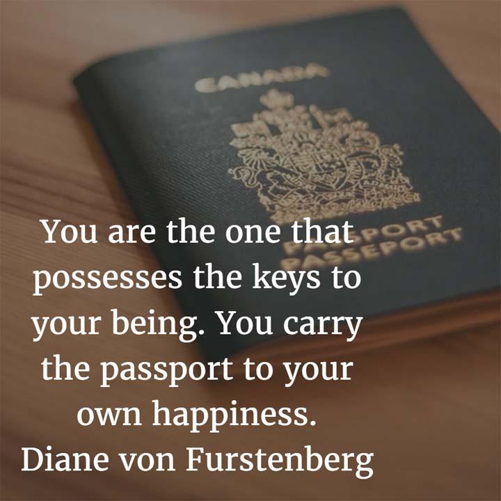 Diane Von Furstenberg on the Keys to Happiness