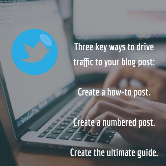 3 ways to drive traffic to your blog post