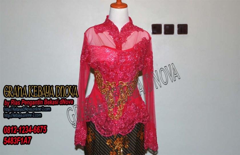Produsen Kebaya Wisuda Murah - Kebaya Modern Full Payet - Kebaya DNOVA 081212346675 (2)