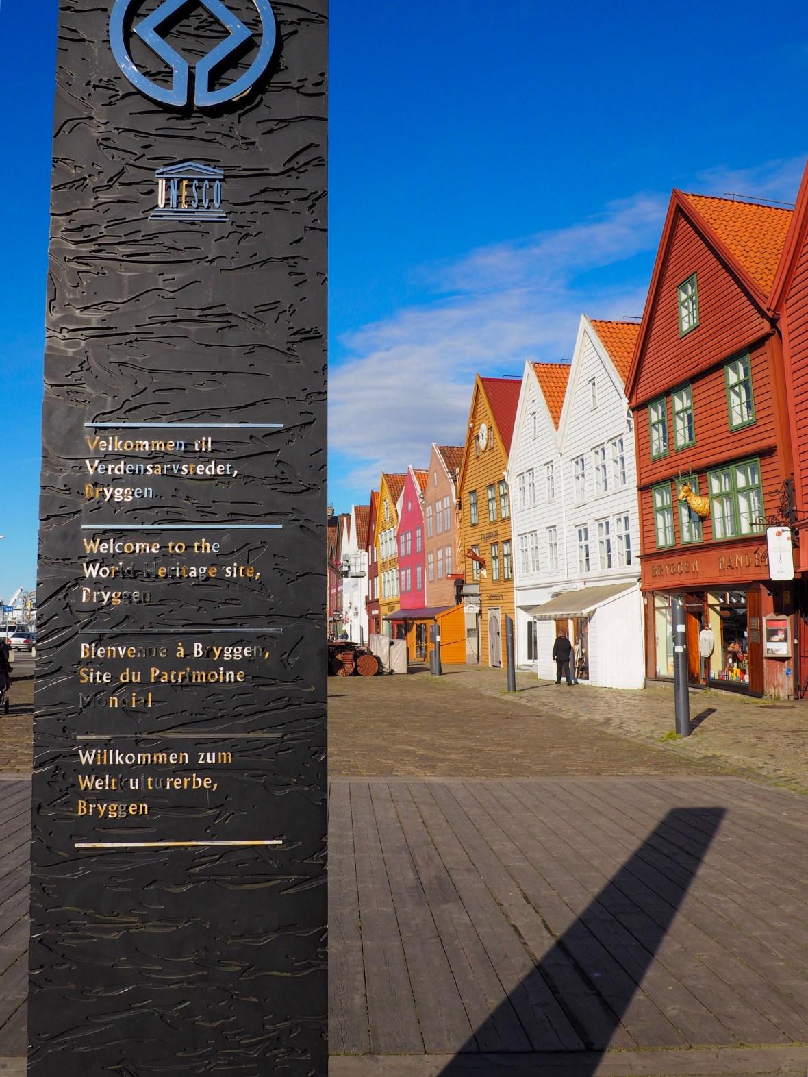 Bergen Norway Bryggen