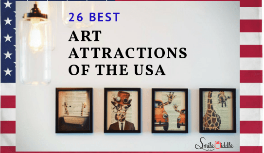 Art Attractions of the USA - SmileMiddle