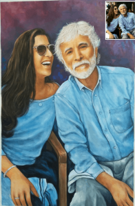 Oil Painting for Father's Day