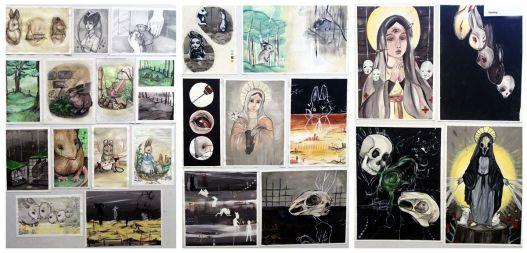Creat an Art Portfolio to be an artist