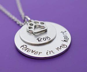 pet memorial jewellery