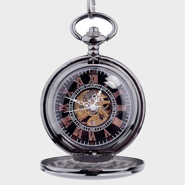 Personalized Pocket Watch as military retirement gift