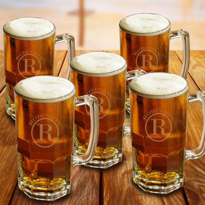 A Set of Beer Mugs