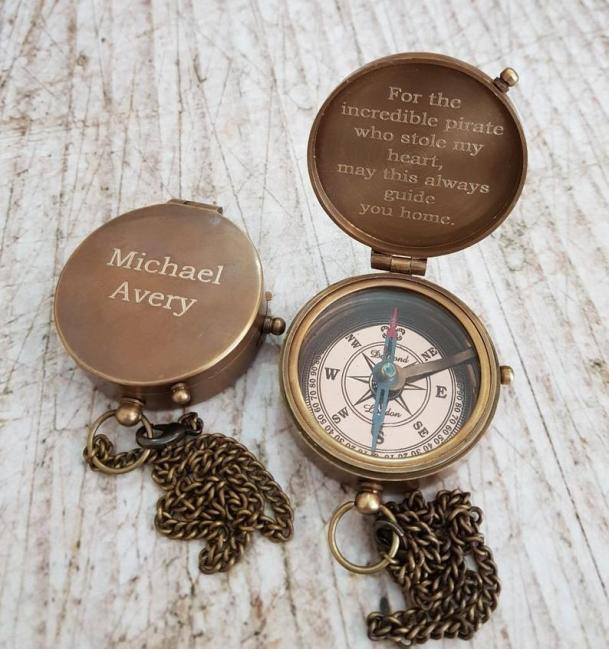 A Compass as military retirement gift