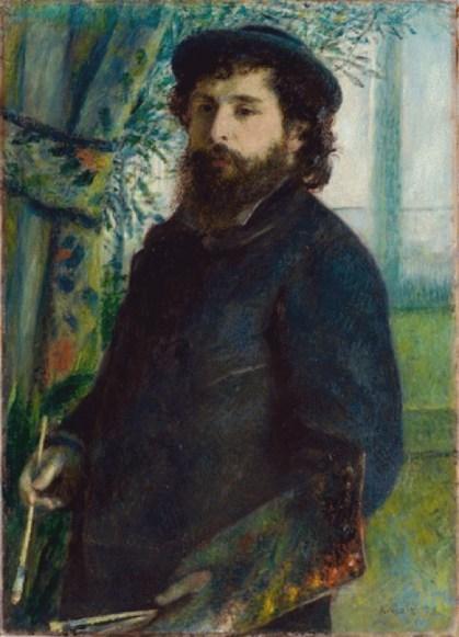 Pierre-Auguste Renoir, Portrait of Claude Monet, 1875, Musée d'Orsay