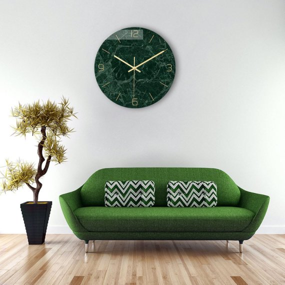 Textured Wall Clocks