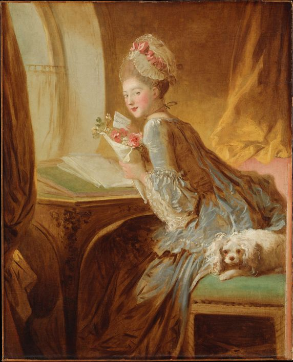 Love Letters by Jean Honore Fragonard (Romantic Paintings)