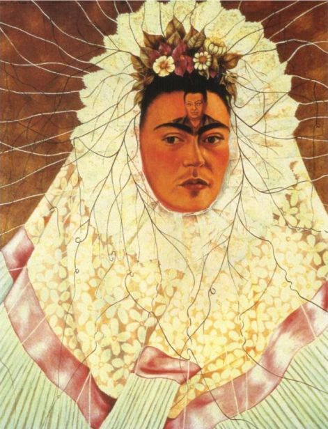 Self Portrait as a Tehuana by Frida Kahlo