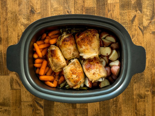 Chicken & Veggie Slow Cooker