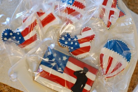 Deliver Cookies (How to Plan a Perfect Veterans Day)