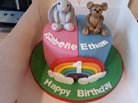 The Twin Cake