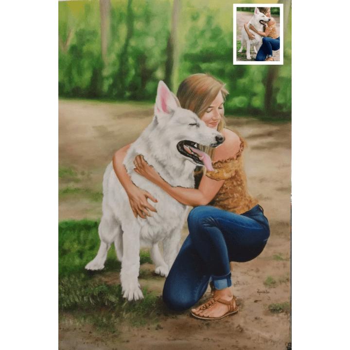 Handmade Pet Portrait