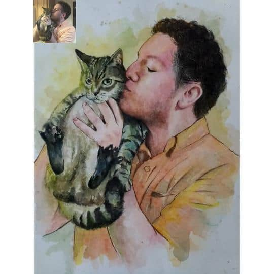 Why have a Cat painting?