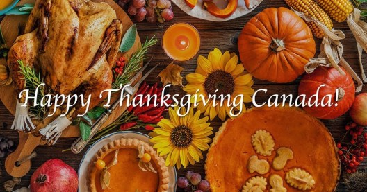 ThanksGiving Celebration In Canada