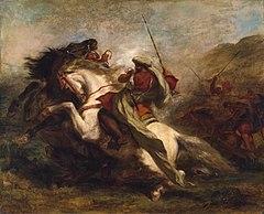 C:\Users\dell\Desktop\240px-Eugène_Delacroix_-_Collision_of_Moorish_Horsemen_-_Walters_376.jpg