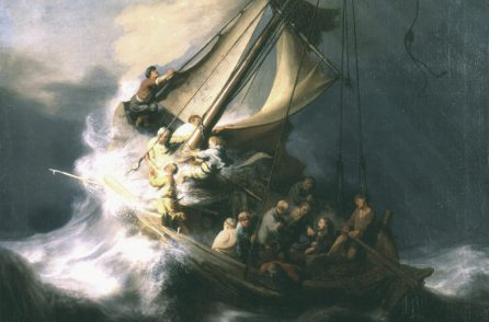 The Storm On The Sea By Galilee Rembrandt