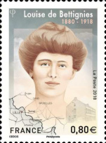 Louise de Bettingnies stamp