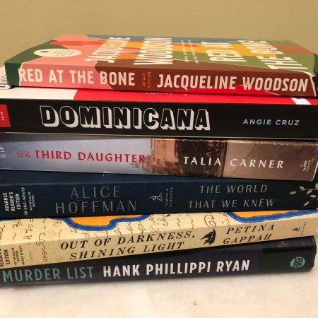 books in a stack