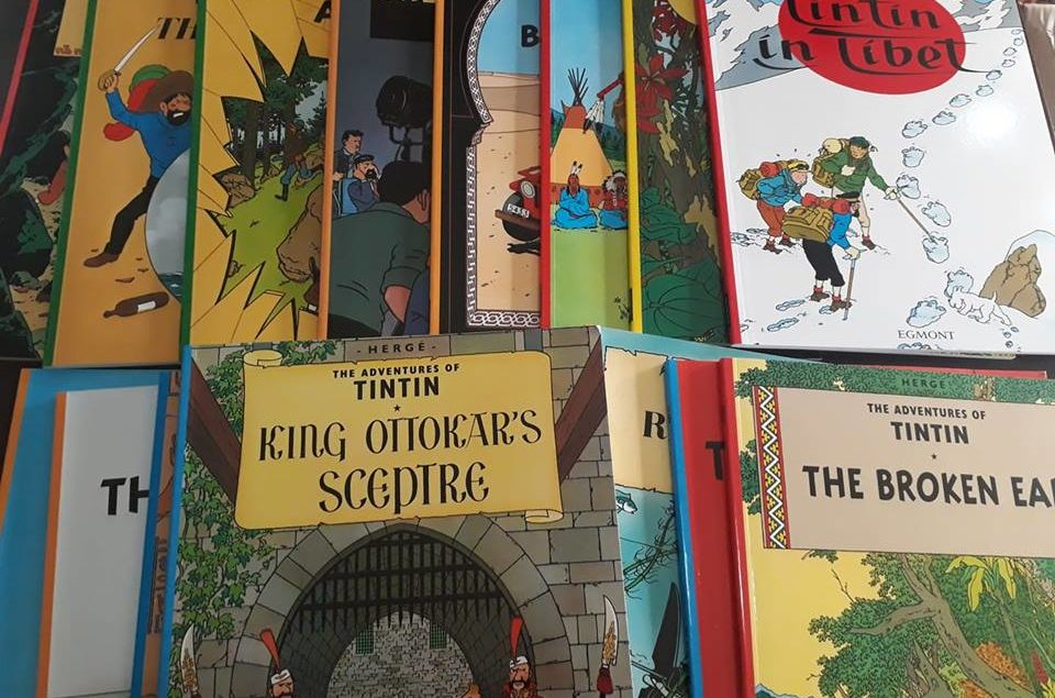 Tintin book set2