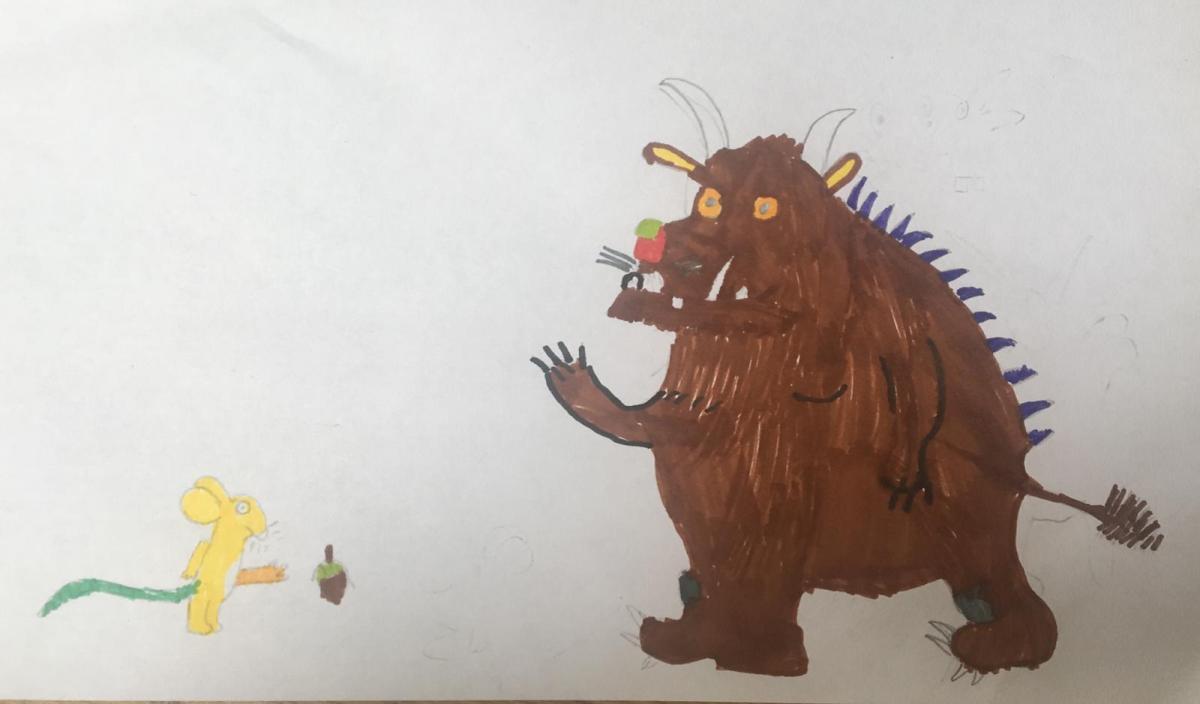The Gruffalo Fan Art