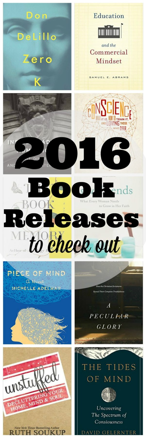 Fiction and Non Fiction is looking good in 2016. Check out these new and soon to be releases.