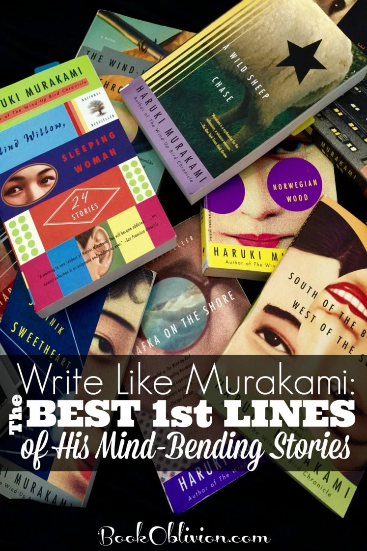 Write Like Murakami: The Best 1st Lines of His Mind-Bending Stories