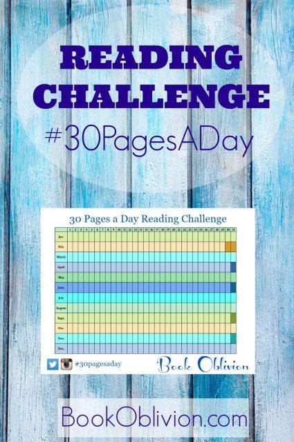 Book Oblivion Reading Challenge