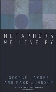 Best Writing Books - Metaphors We Live By by George Lakoff and Mark Johnson