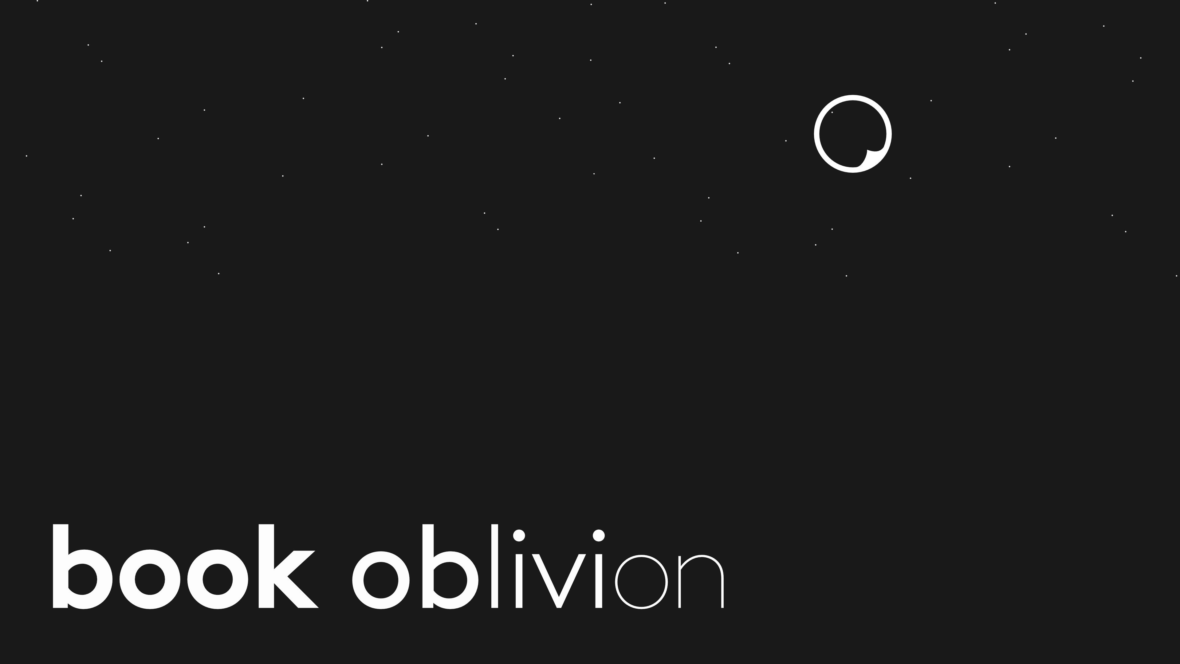 Book Oblivion