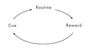 Reading Habit - Cue Routine Reward