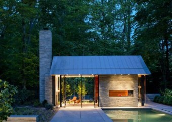 Nevis Pool and Garden Pavilion by Robert M. Gurney Architect