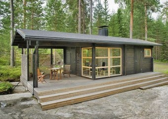 Sunhouse Prefab Home by Kalle Oikkari
