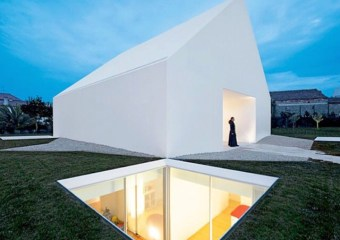 House in Leiria Portugal by Aires Mateus