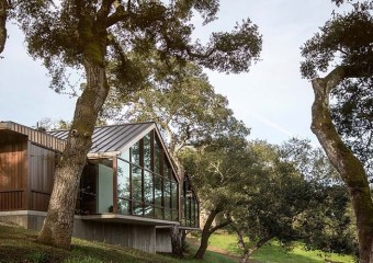 Forty One Oaks, Portola Valley, CA by  Field Architecture
