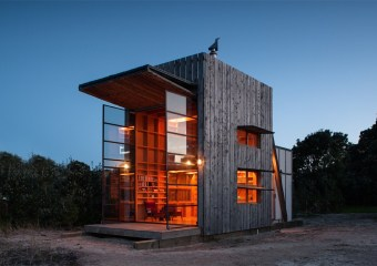Whangapoua Sled House, Coromandel, New Zealand by Crosson Clarke Carnachan Architects