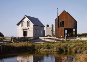 Enough House, Upper Kingsburg, Nova Scotia, Canada by MacKay-Lyons Sweetapple Architects