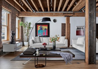 Franklin Street Loft, New York by Deborah Berke Partners