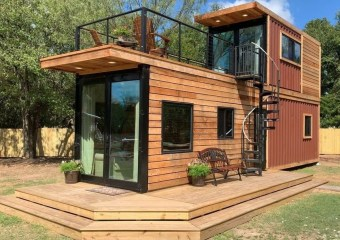 The Helm by Waco, Texas based Cargo Home Tiny Homes