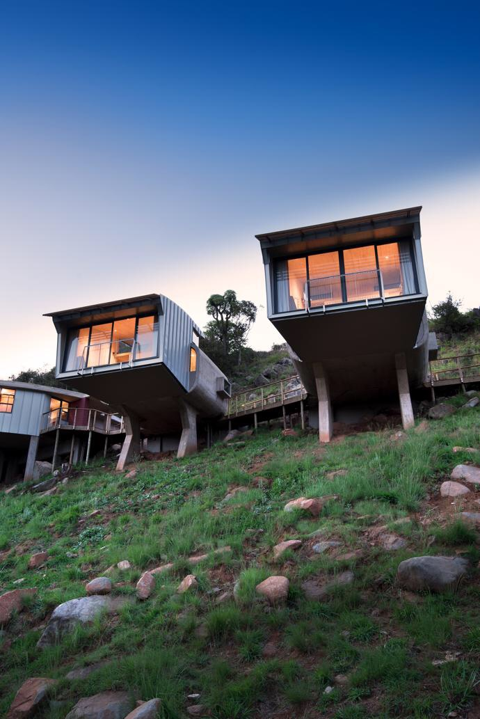 The Fall House, Dullstroom, South Africa by Paul ...