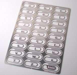 Alphabet Paperclips - Book of joe