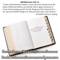 "#BOMSummer DAY 14, ""Prove It"""