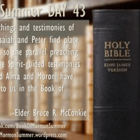 """#BOMSummer DAY 43, Alma 23-25: """"Parallel Preaching"""""""