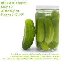#BOMTC Day 36, May 12~Alma 5-6 or Pages 217-223: A Mighty Change of Heart!
