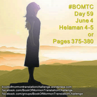 "#BOMTC Day 59, June 4~Helaman 4-5 or Pages 375-380: ""They Cannot Fall"""