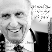 #BOMTC Day 61, June 6~Helaman 8-10 or Pages 387-392: The Power of Prophets